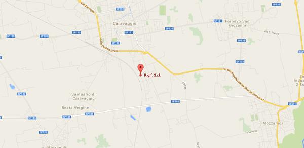 Mappa RGF Caravaggio